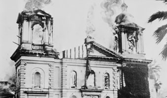 Mission Santa Clara Fire, October 23, 1926